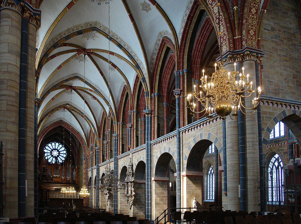 Собор Святого Петра в Бремене, интерьер