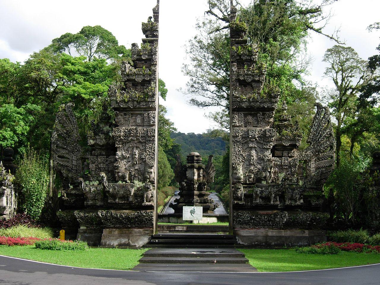 Ботанический сад Бали, ворота