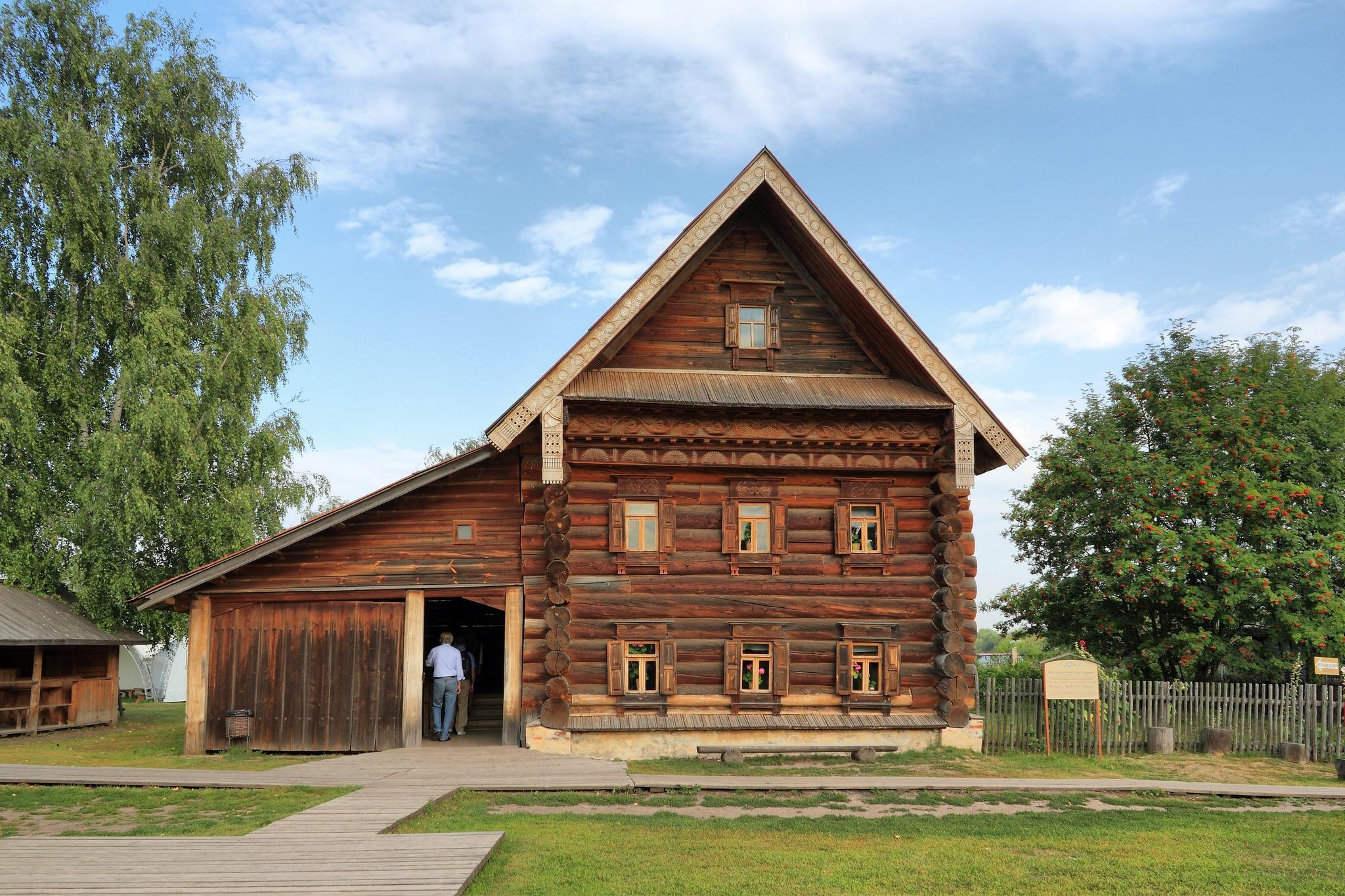 Музей деревянного зодчества в Суздале, дом зажиточного крестьянина