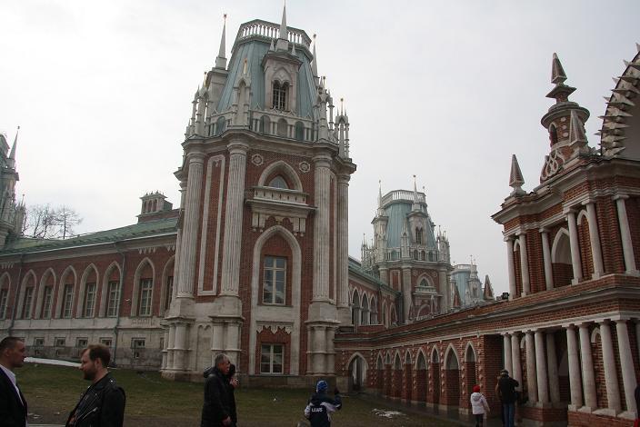 Основые здания в Царицыно