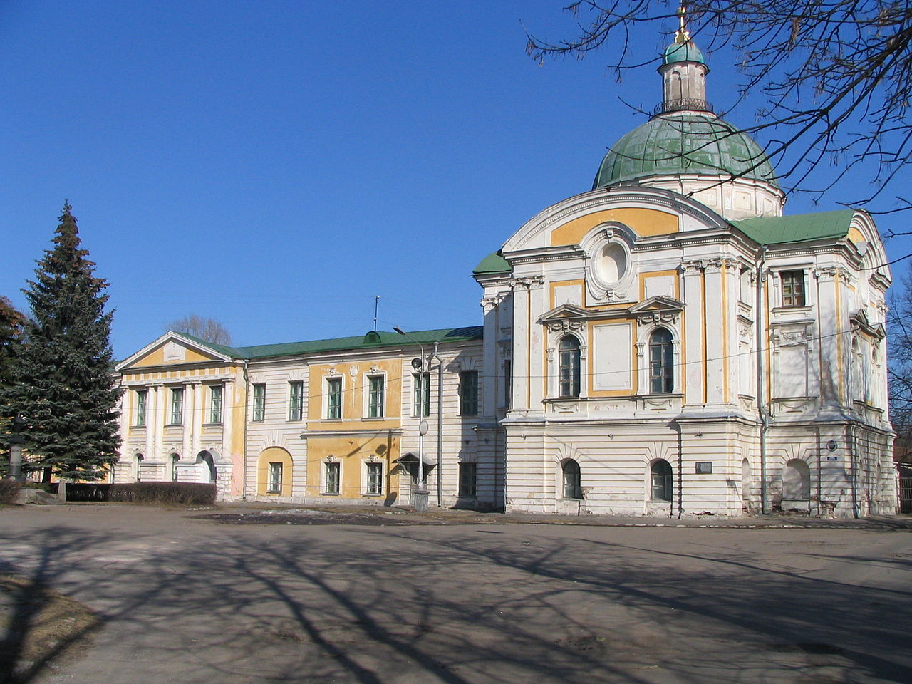 Путевой дворец в Твери, фрагмент