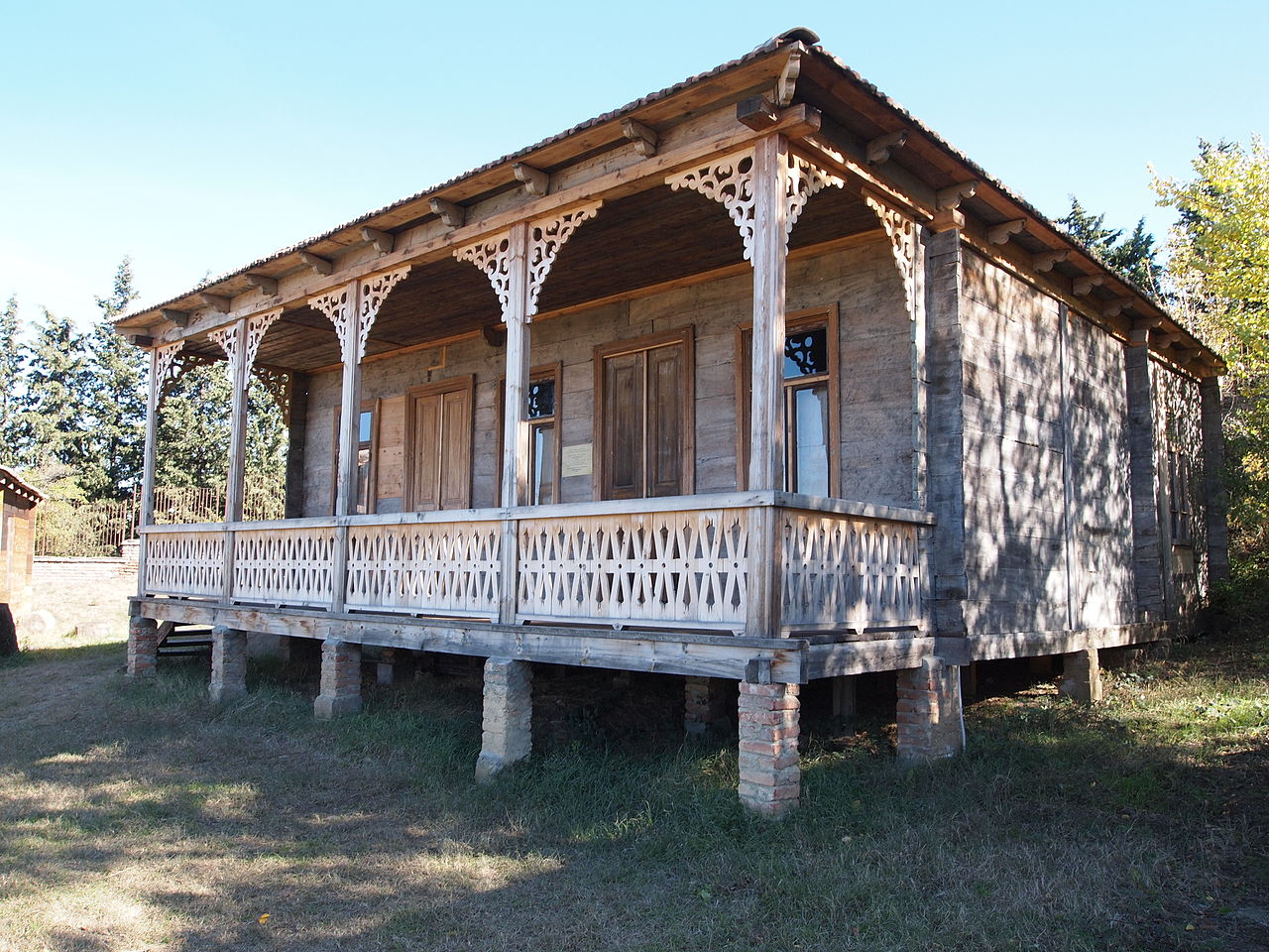 Тбилисский этнографический музей, традиционный дом