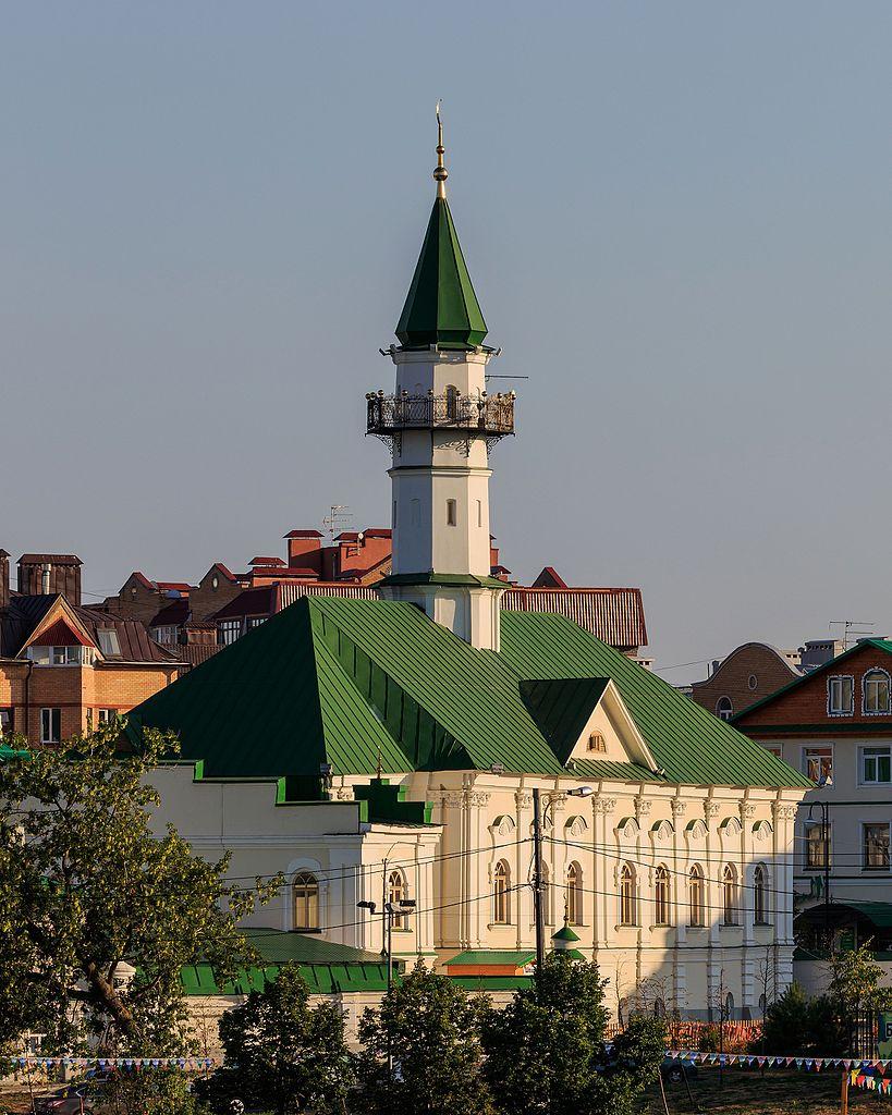 Вид на мечеть Марджани