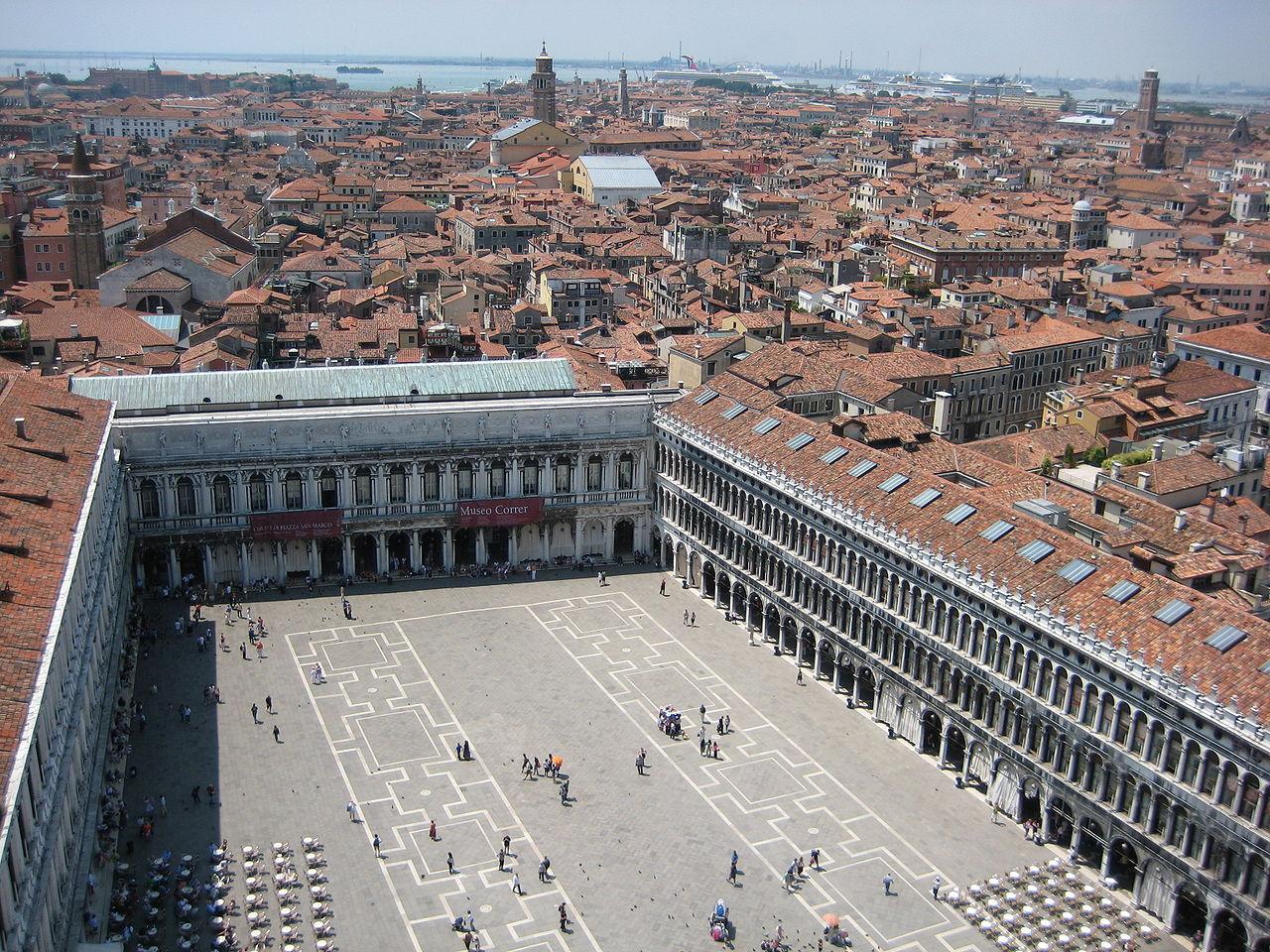 Площадь Сан-Марко, главная площадь Венеции