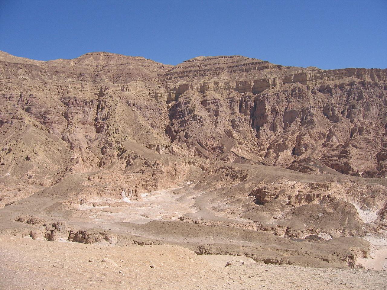 Стены Цветного каньона, Нувейба