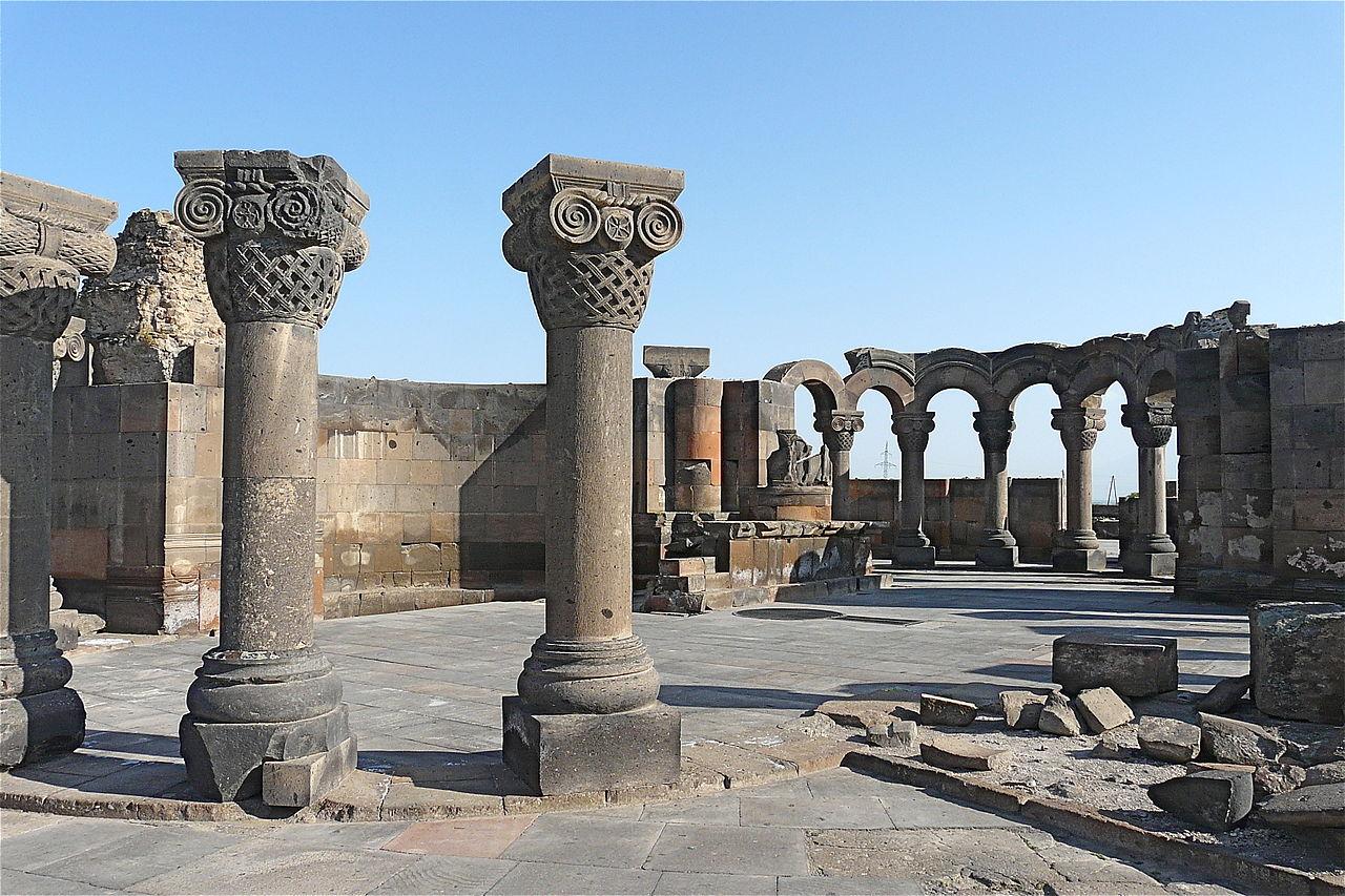 Храм Звартноц (Храм Бдящих ангелов)