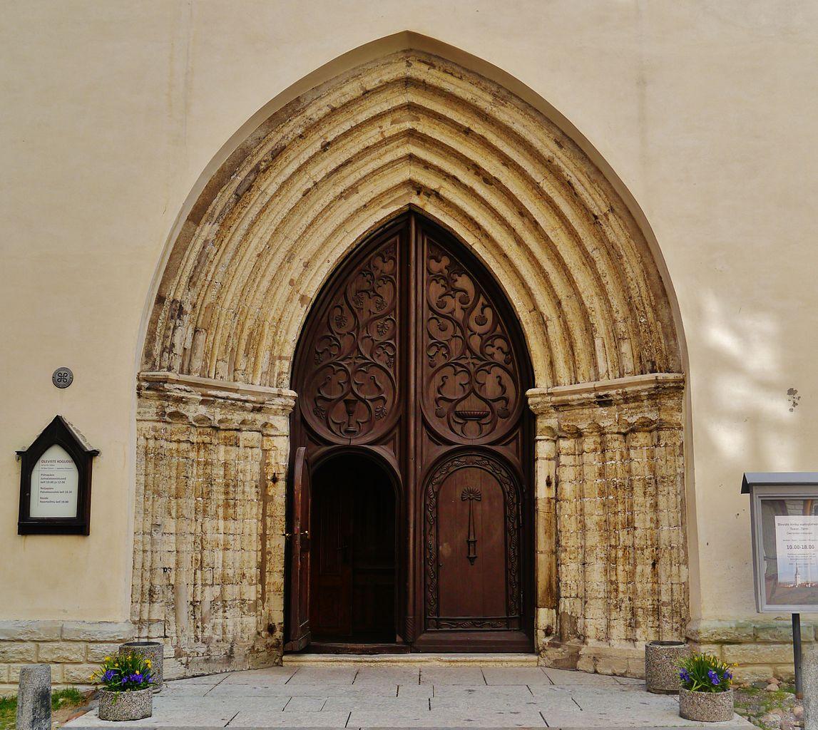 Церковь Олевисте, портал