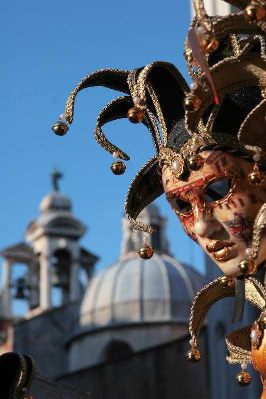 Карнавальная Маска, Венеция, Италия.jpg