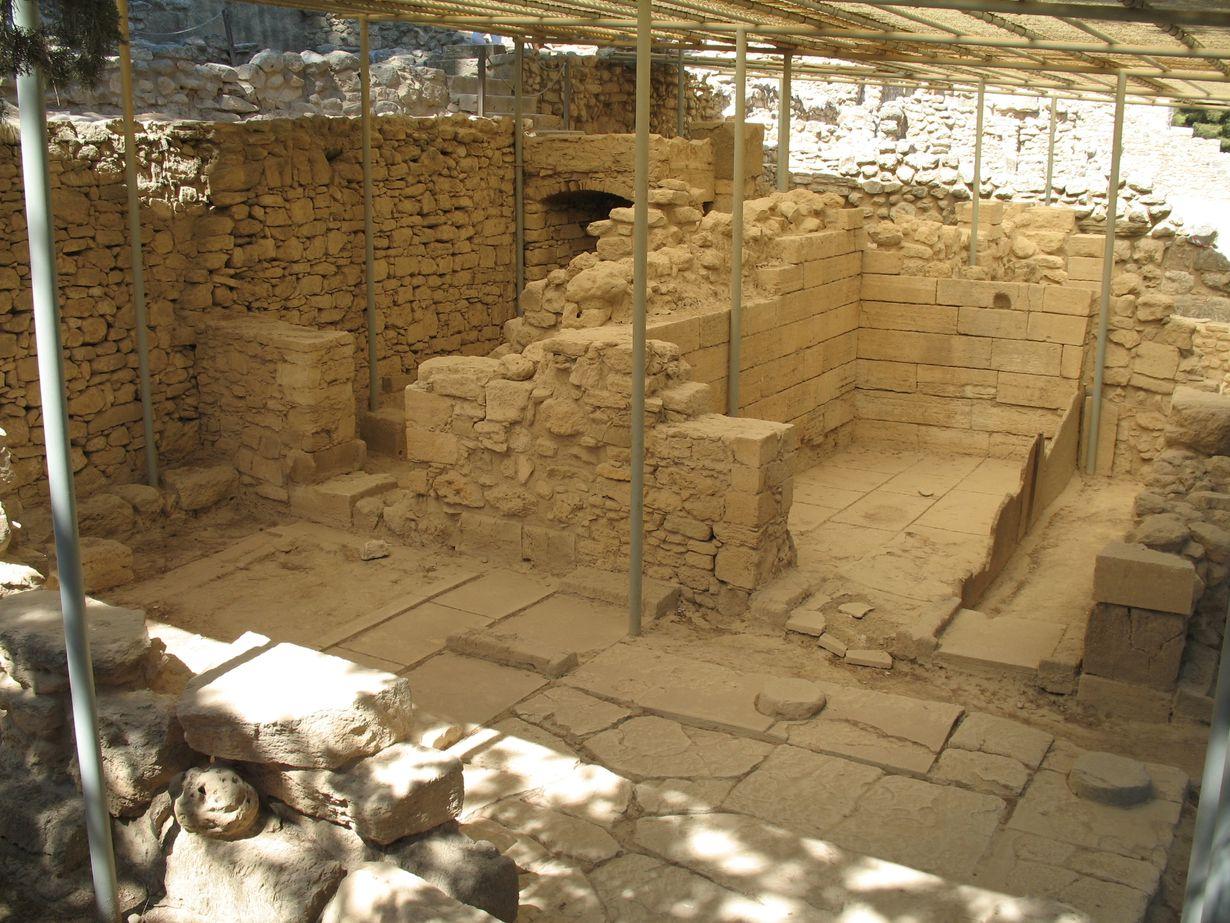 Кносский дворец, раскопки