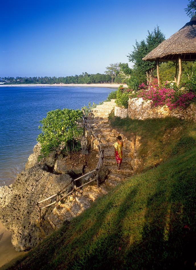 Пляж Джимбаран на Бали, Индонезия