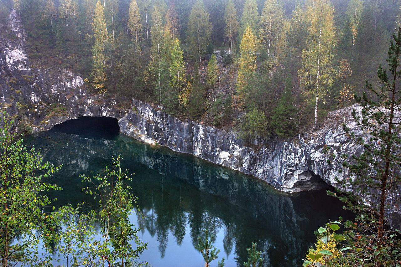 Республика Карелия, Рускеальский мраморный каньон