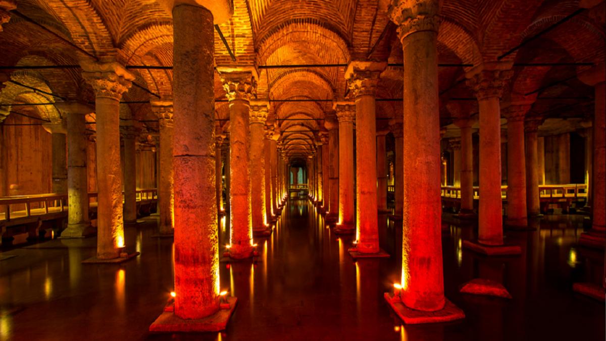 Стамбульская цистерна Базилика