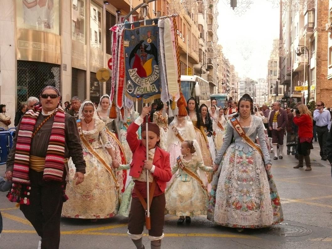 Праздник весны в Валенсии