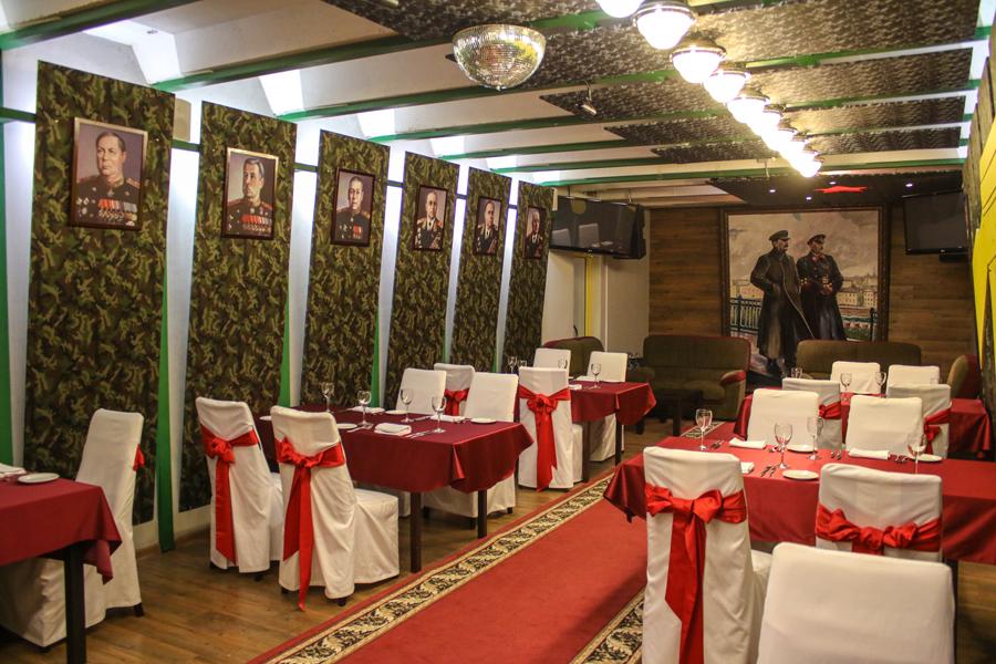 Ресторан Музея Бункер-42 на Таганке