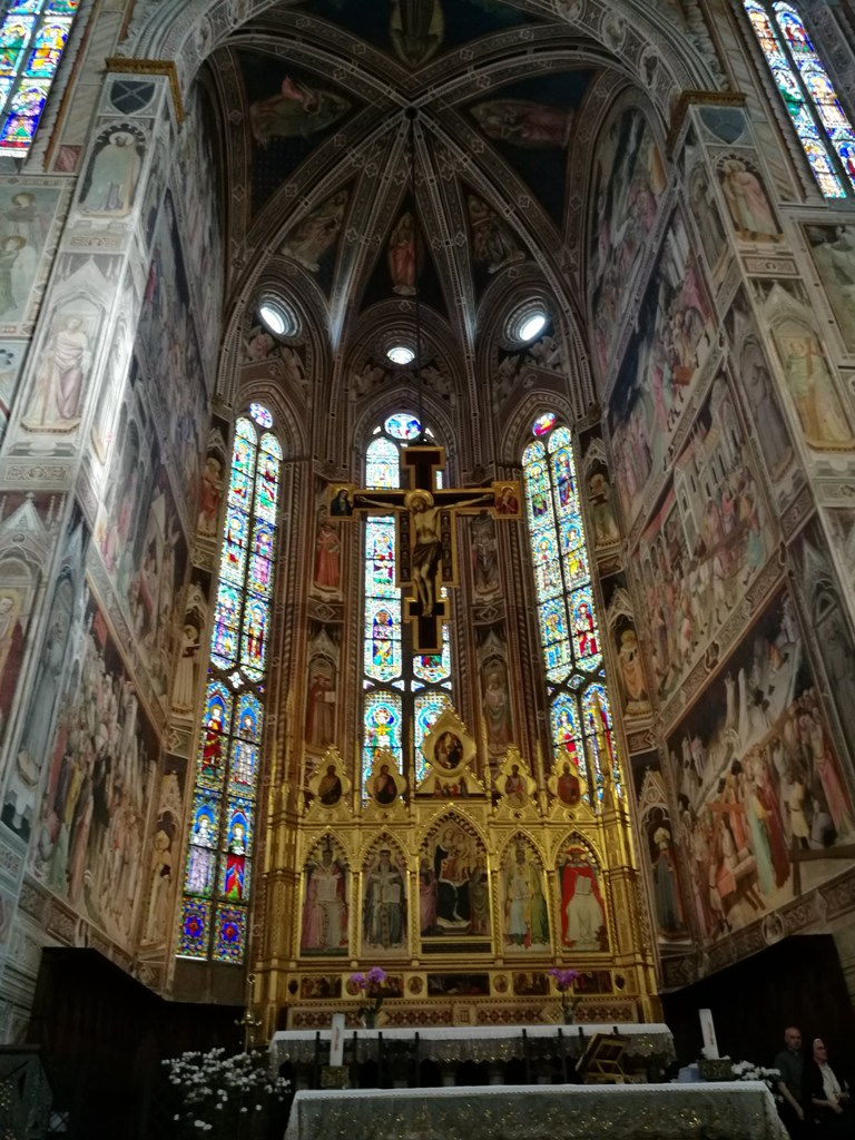 Алтарь в соборе, Флоренция, Италия