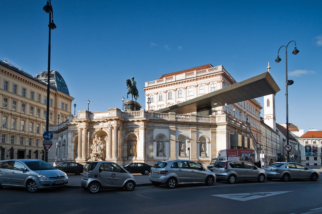 Альбертина, Вена