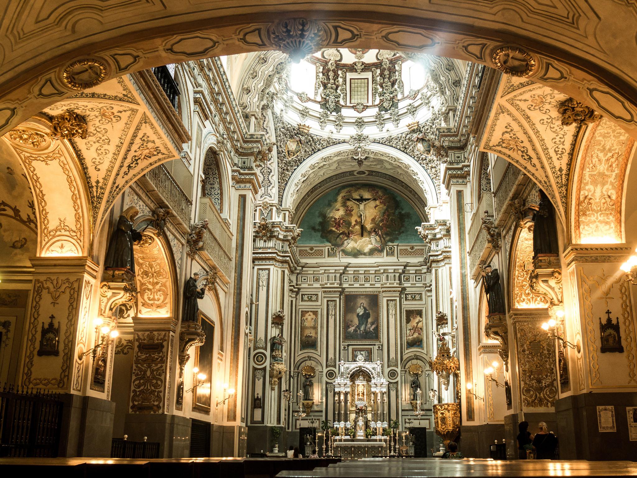 Кафедральный собор Гранады, интерьер
