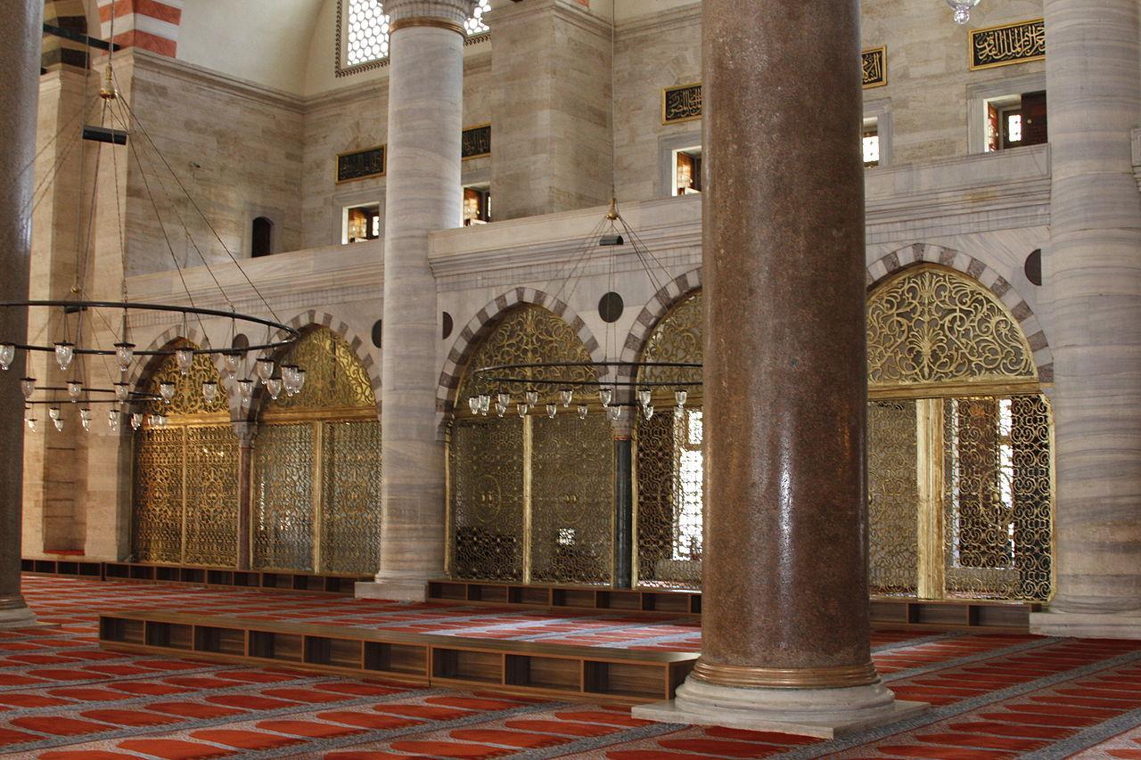 Мечеть Сулеймание, интерьер