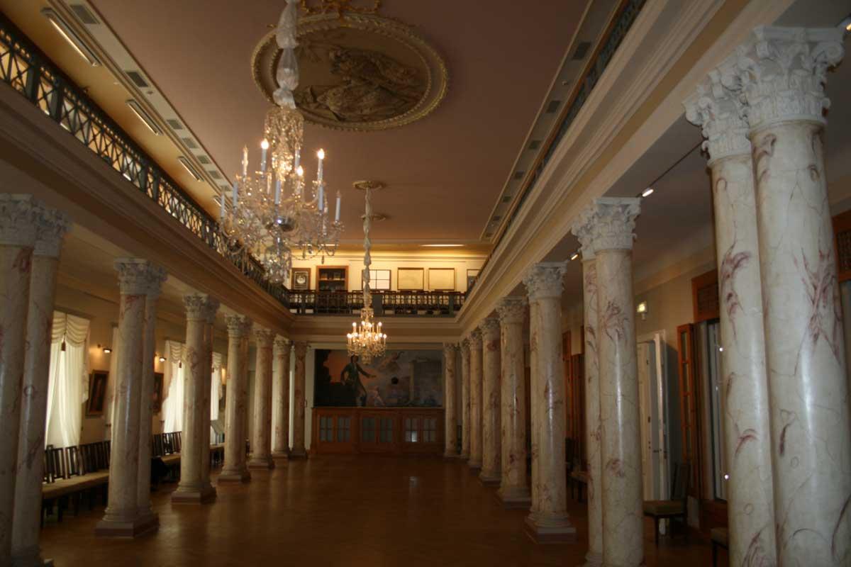 Музей истории Риги и мореходства, Колонный зал