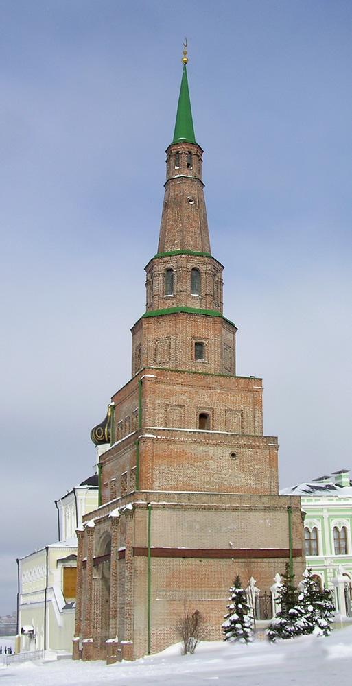 Вид на башню Сююмбике, Казань