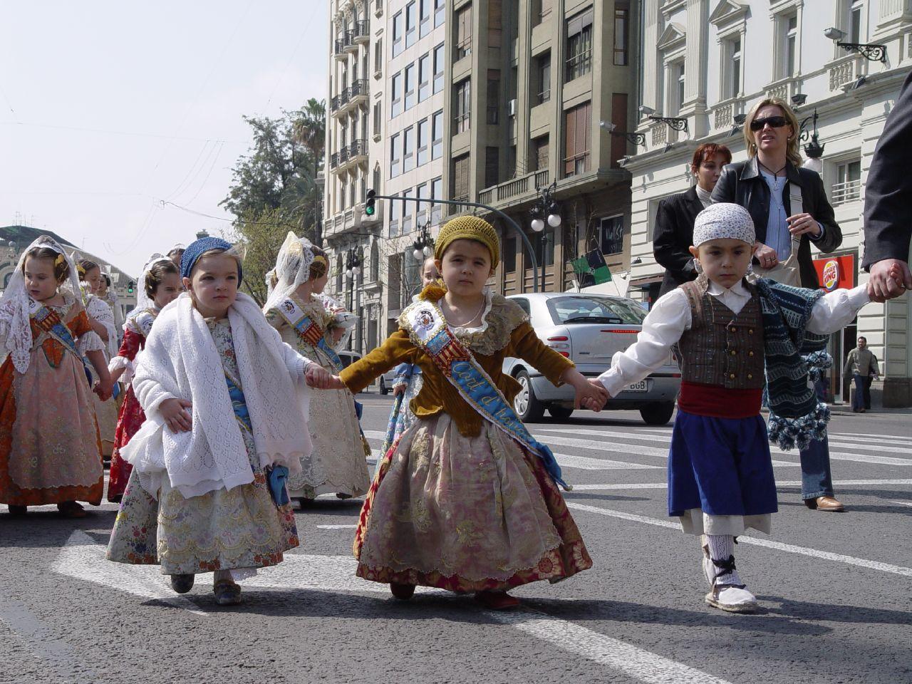 Детский парад в Валенсии
