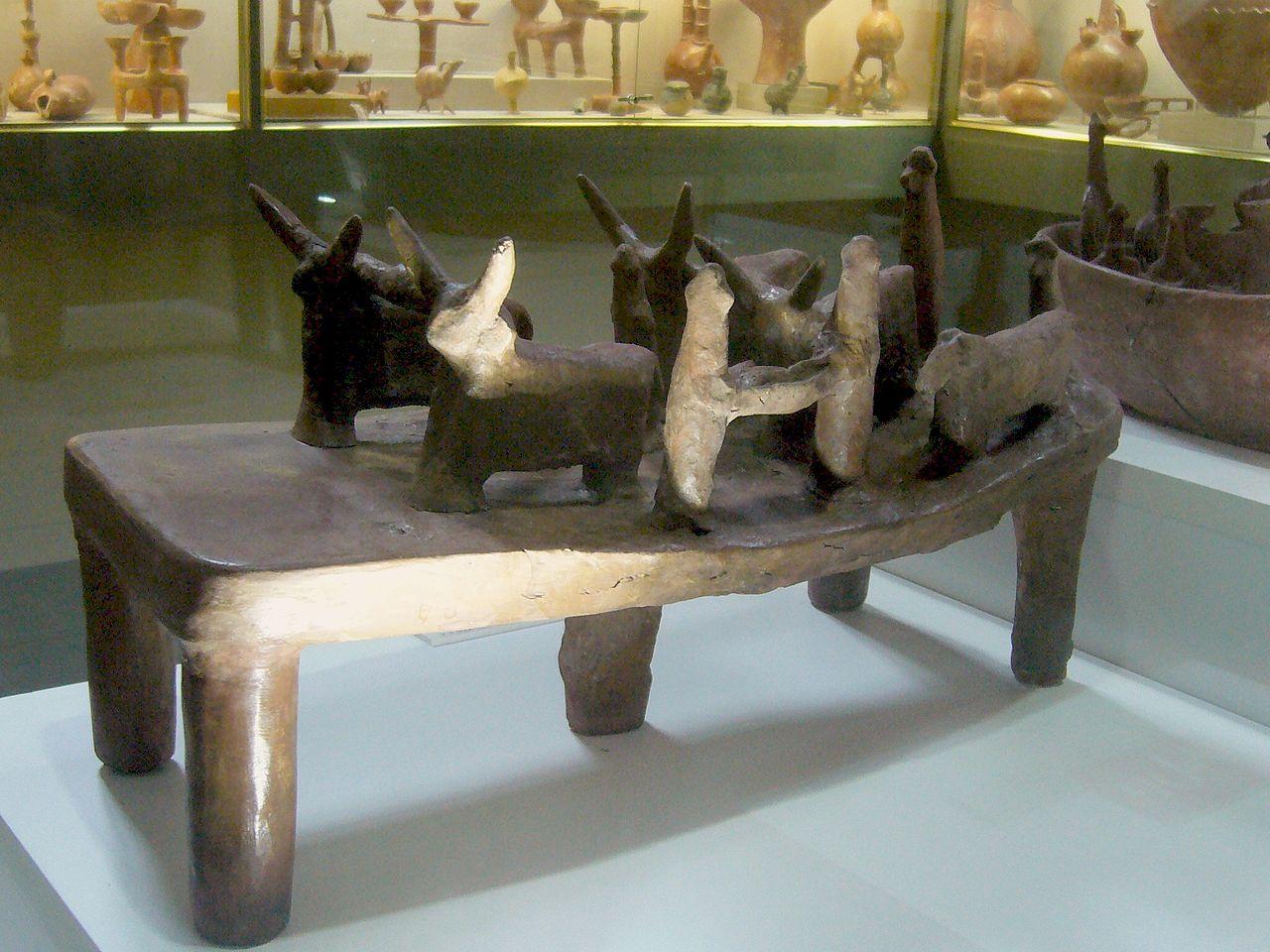 Кипрский археологический музей, обработка пашни