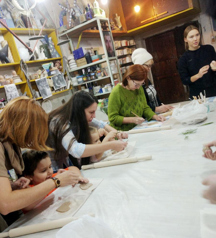 Мастер-класс в Живом музее Анатолия Камардина