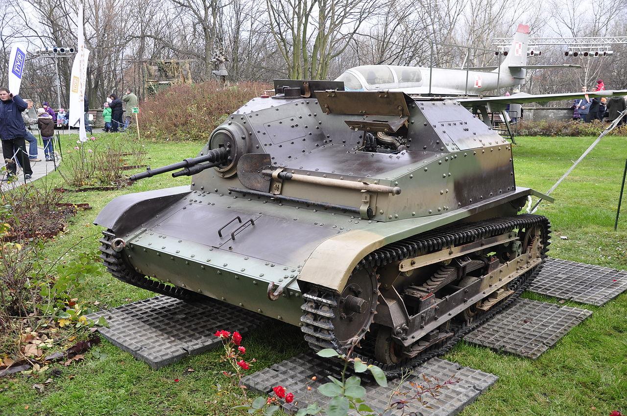 Музей Войска Польского, танк