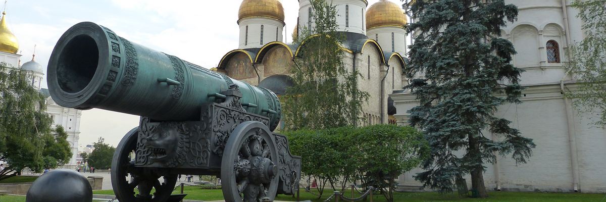 Цапь-пушка в Москве
