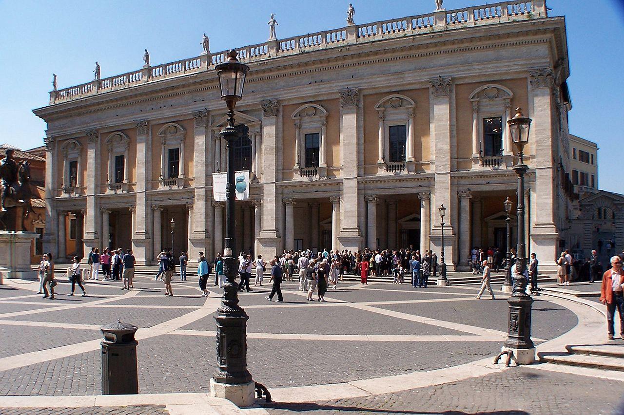 Капитолийские музеи, Палаццо-деи-Консерватори