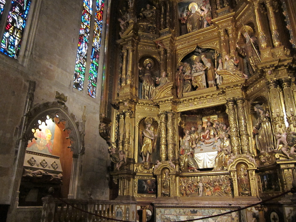 Кафедральный собор Пальма-де-Майорки, интерьер