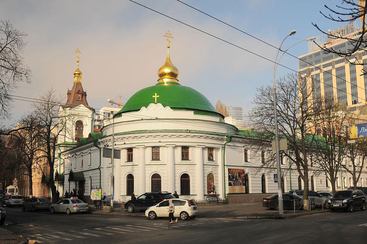 Свято-Введенский монастырь Киева
