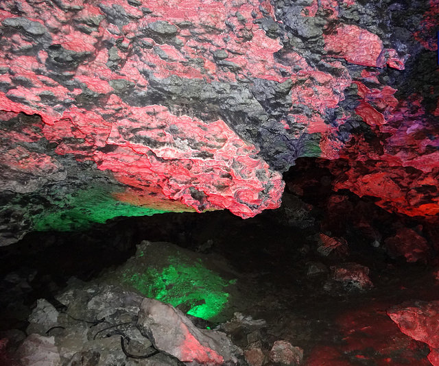 В Кунгурской пещере