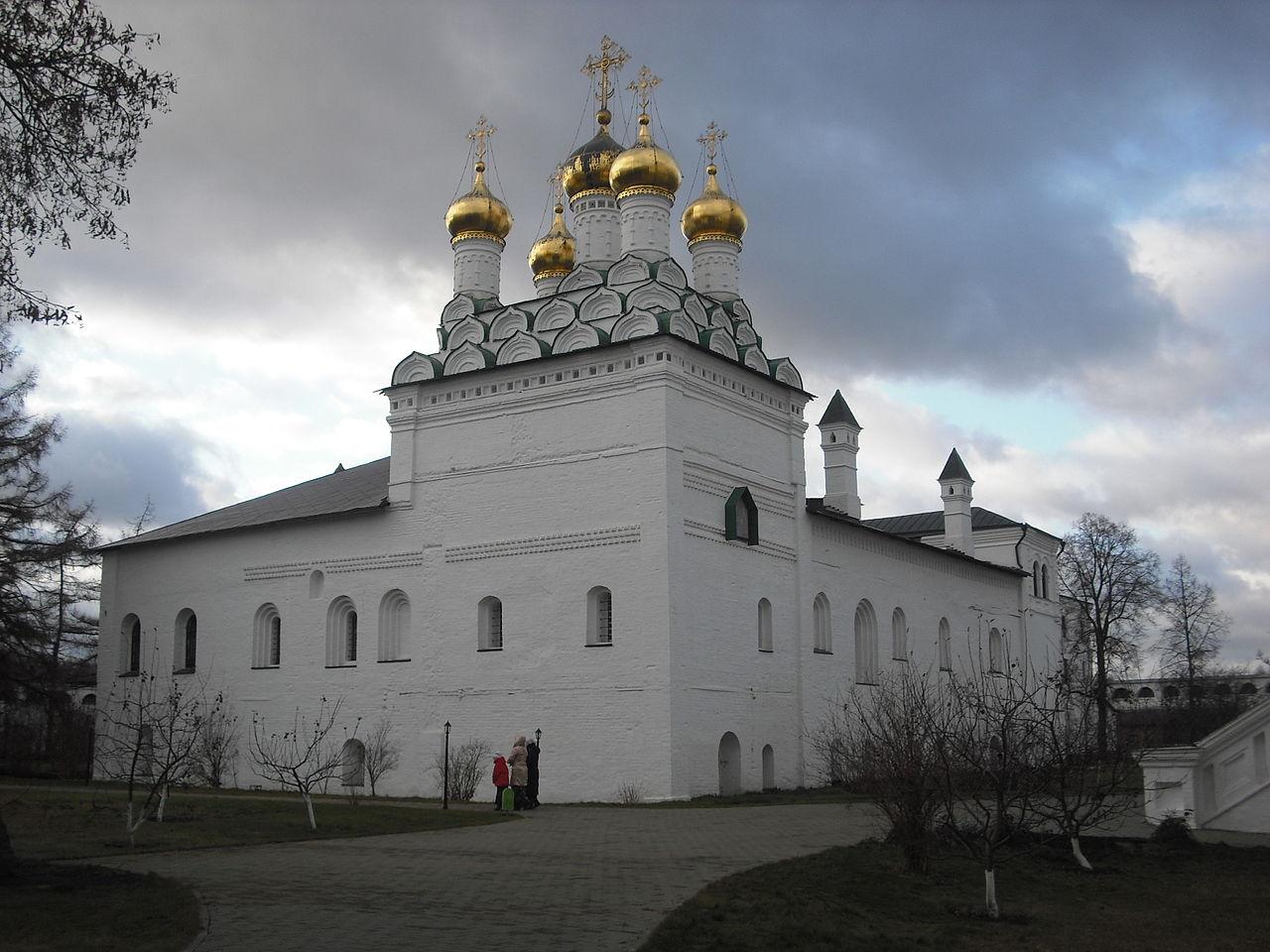 Иосифо-Волоколамский монастырь, Трапезная 1504 года