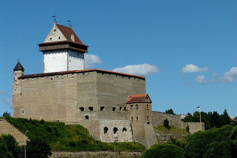 Популярные достопримечательности Нарвы (Эстония), что посмотреть в Нарве