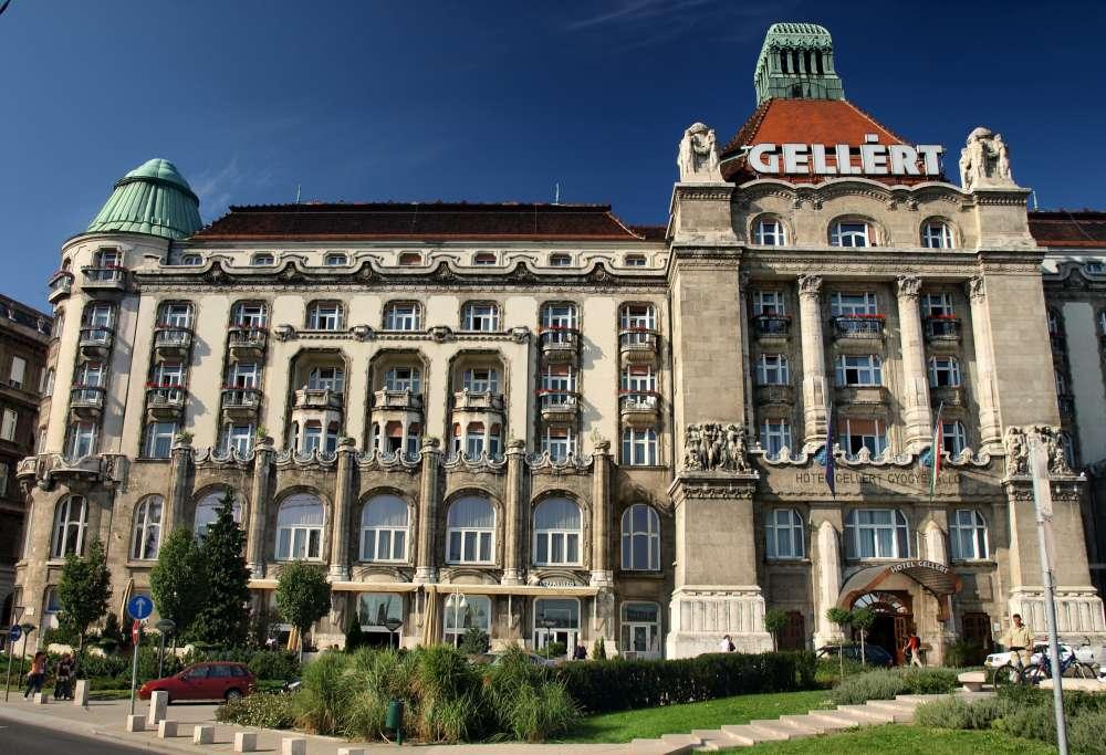 Отель Геллерт в Будапеште