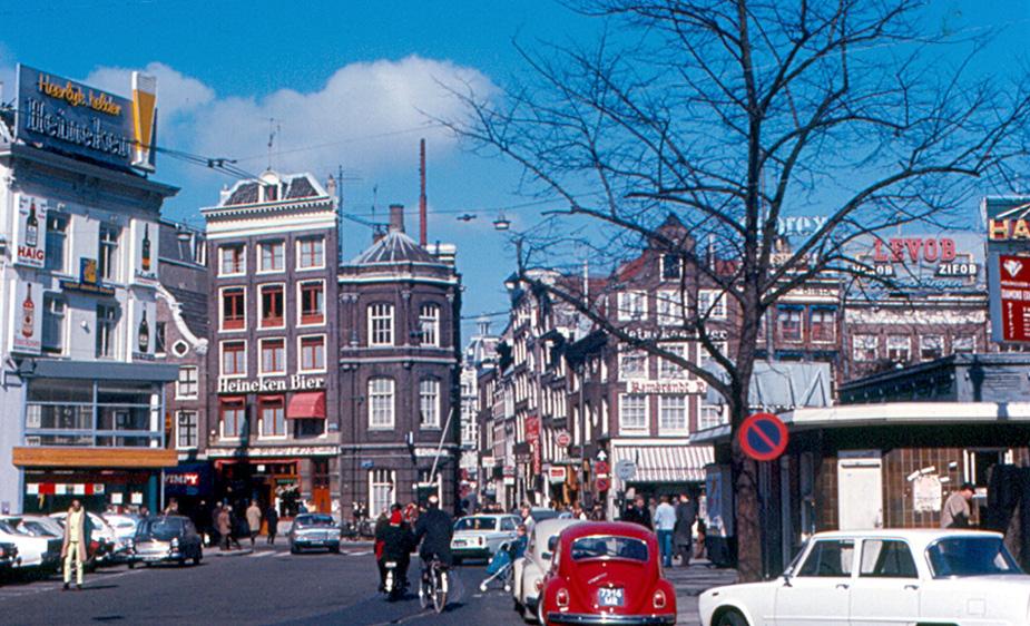 Вид на площадь Рембрандта