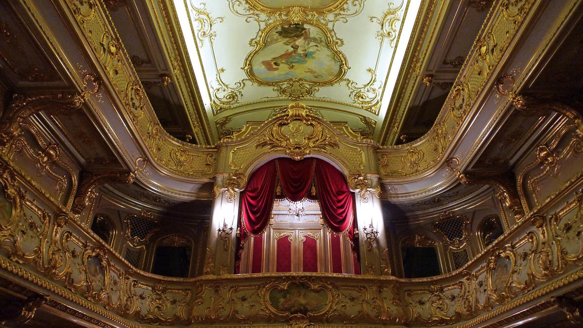 В Юсуповском дворце Санкт-Петербурга