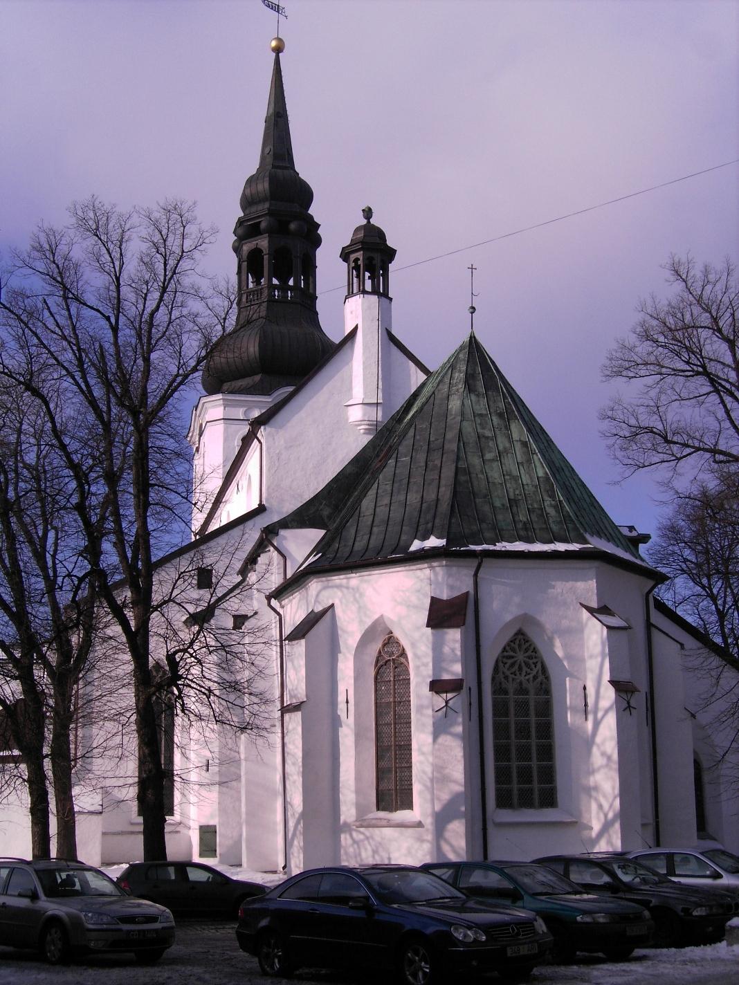 Домский собор в Старом городе Таллина