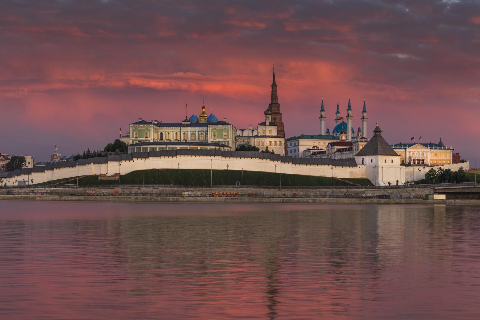 Казанский кремль, древнейшая часть Казани