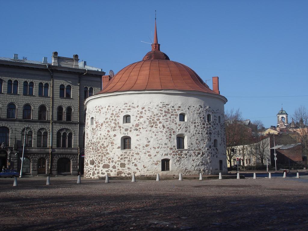 Круглая башня в Выборге