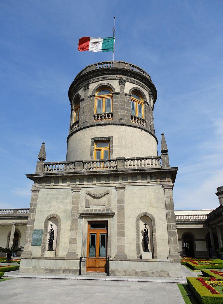 Чапультепекский дворец, башня