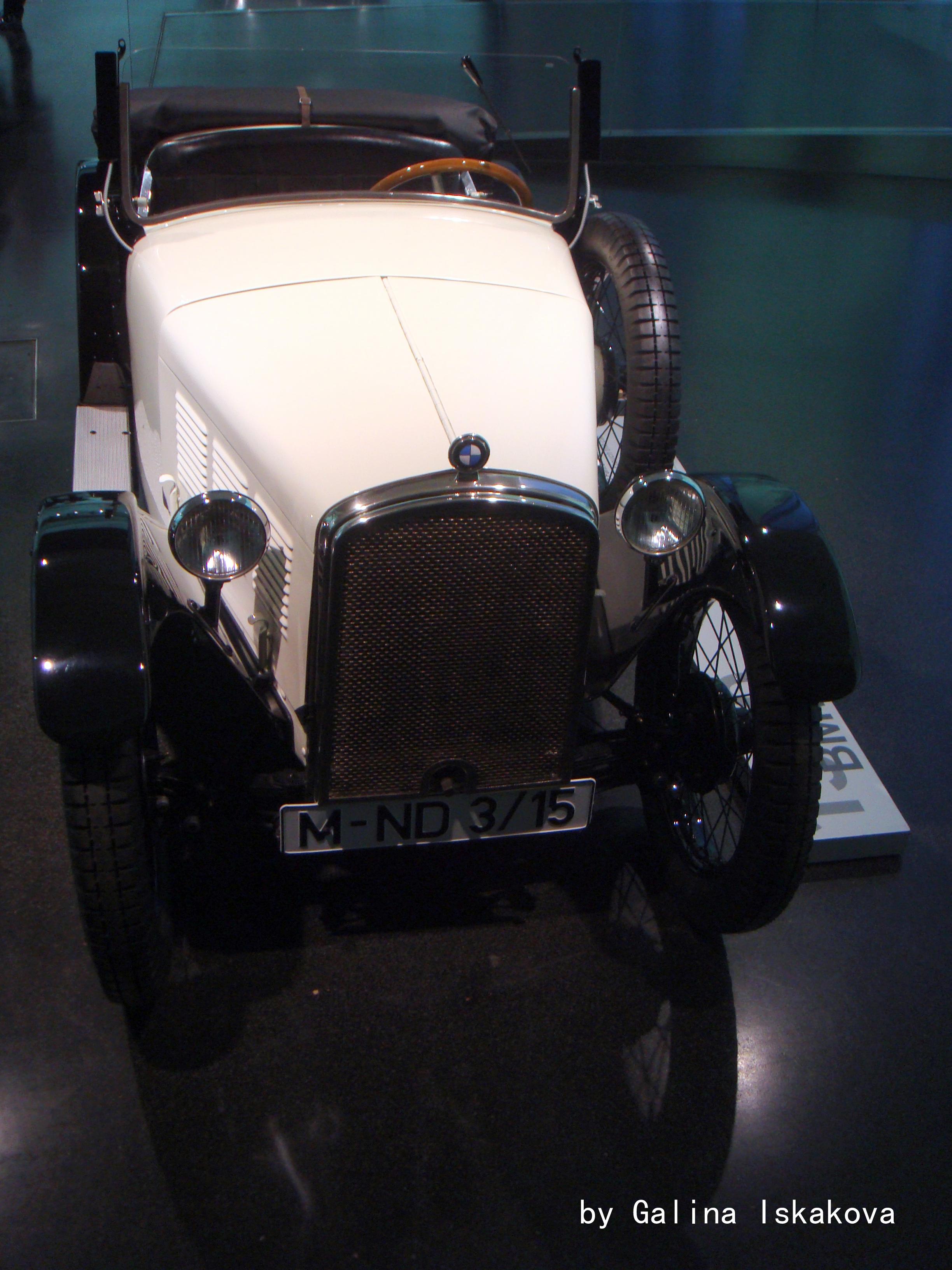 BMW 3.15, музей BMW