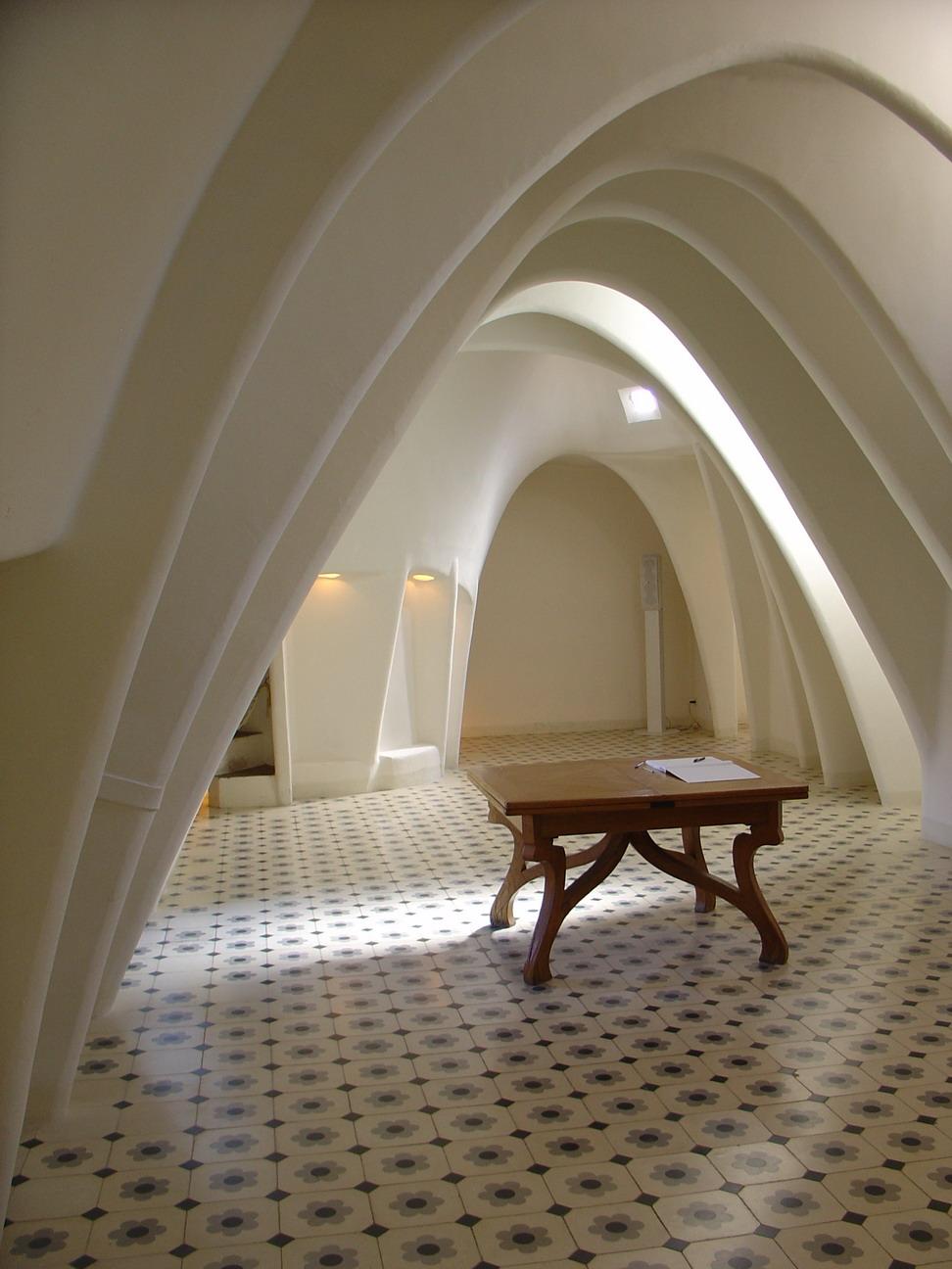 Комната в доме Бальо, Барселона