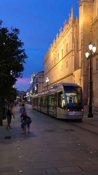 Транспорт Севильи, Испания
