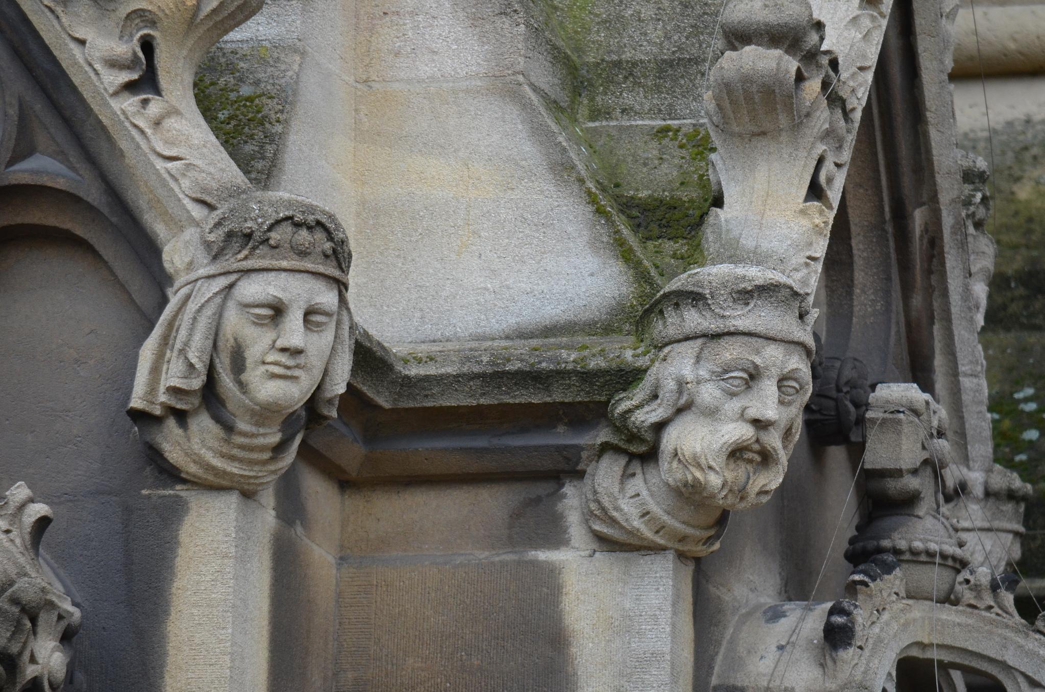 Украшения внешнего фасада, Вестминстерское аббатство, Лондон