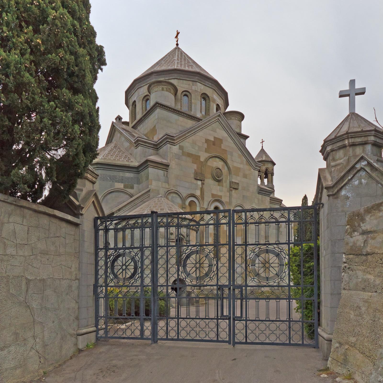 Армянская церковь в Ялте (церковь Святой Рипсиме)