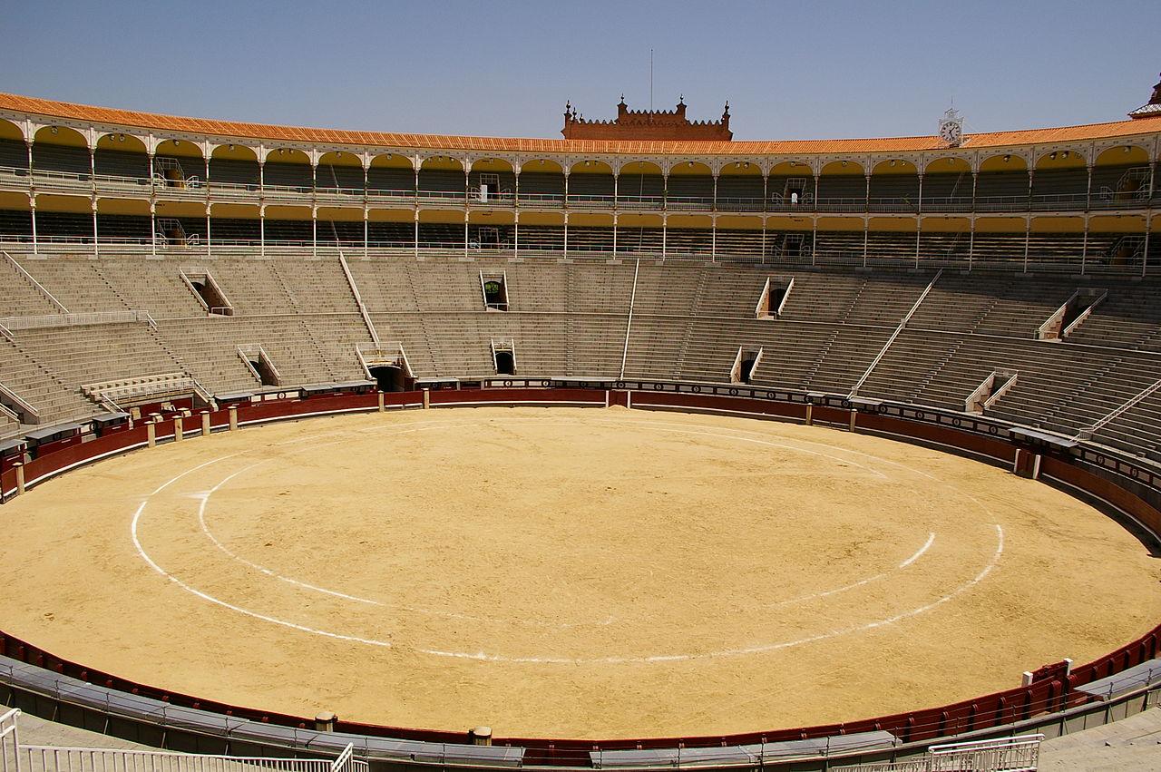 Вид арены Лас-Вентас