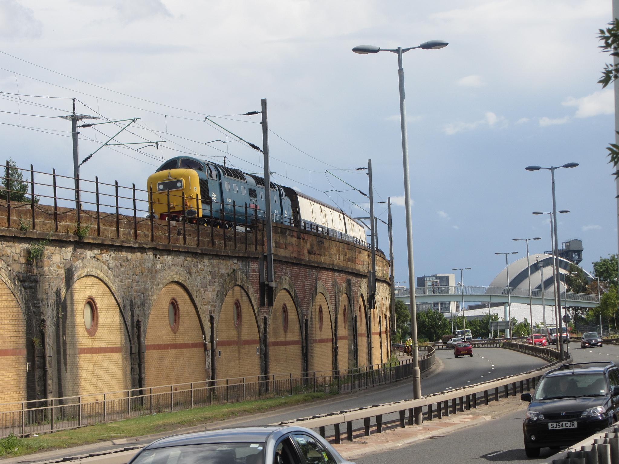 Поезд «Королевский шотландец» компании «Бельмонд»