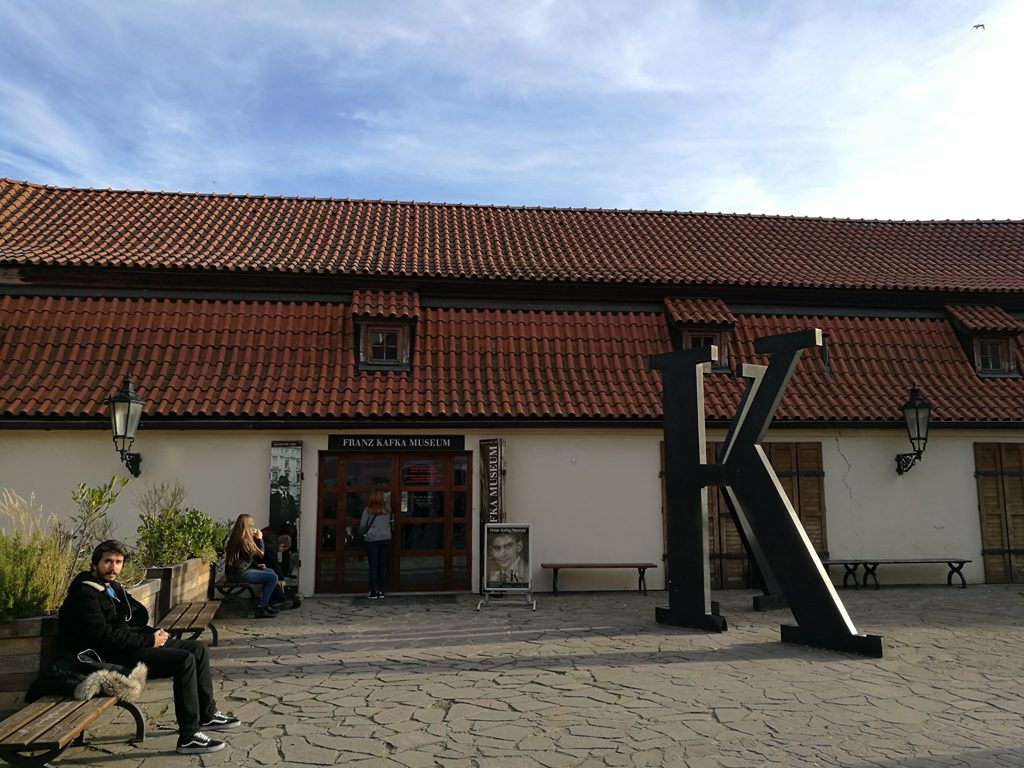 Вид на музей Кафки, Прага, Чехия